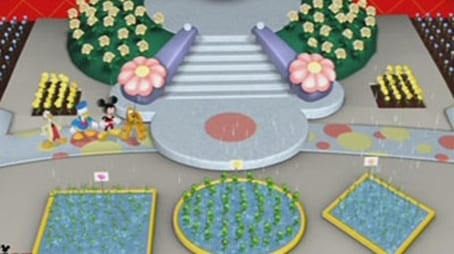 Minnie's and Daisy's Flower Shower