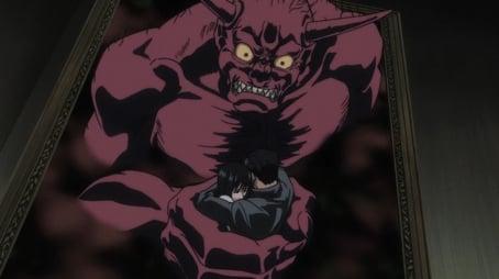Der Oni, der in dem Gemälde haust