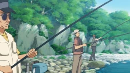 Fierce Battle! Trout Fishing Contest