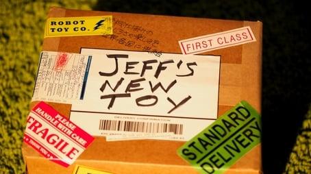 Jeff's New Toy