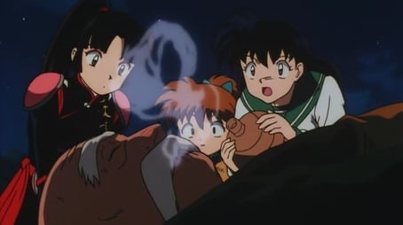 Miroku Falls Into A Dangerous Trap!