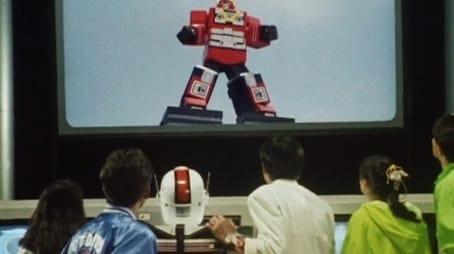 Red Brawling Robot