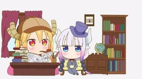 Miss Kobayashi's Dragon Mystery