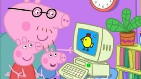 Mommy Pig at Work
