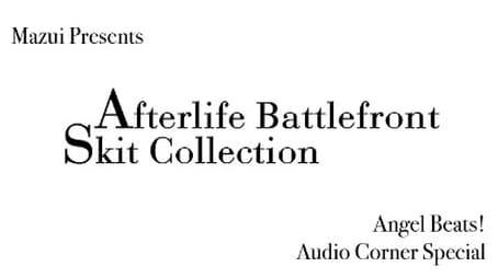 Afterlive Battlefront Skit Collection