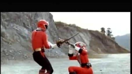 Kampf der roten Ranger