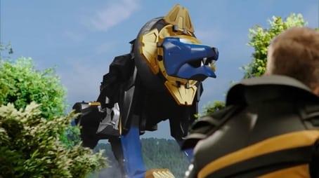 Der Beast-X King Zord