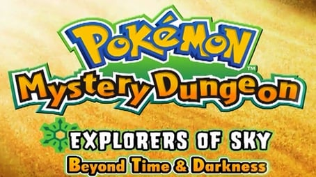 Mystery Dungeon: Explorers of Sky - Beyond Time & Darkness