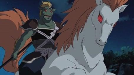 Untamed Entei and Horrible Hakudoshi