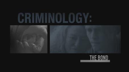 Criminology the Bond
