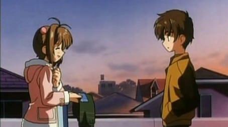 Sakura, Shaoran und der Tsukimine Schrein