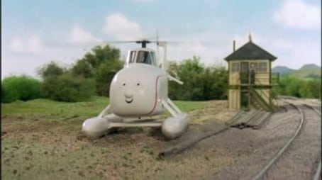 A Bad Day For Harold The Helicopter