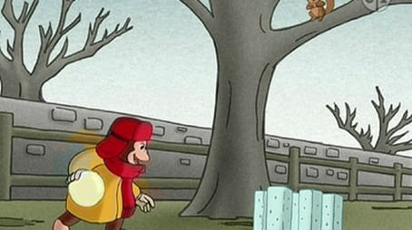 Curious George vs. Winter
