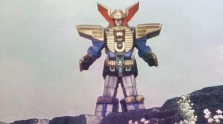 Complete!! The Chōriki Robot!