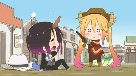 Miss Kobayashi's Dragon Battle