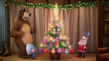 One, Two, Three! Light the Christmas Tree!