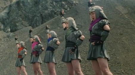 The Flower Kunoichi Gang!!