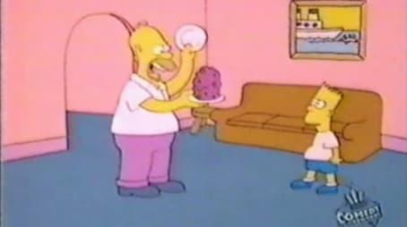 Bart and Homer's Dinner