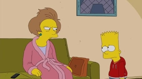 Bart Gets a 'Z'