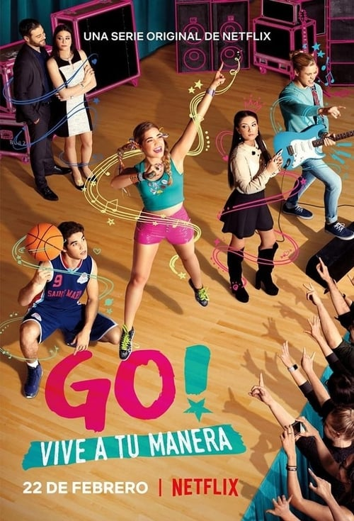 Cover of the Season 2 of Go! Live Your Way
