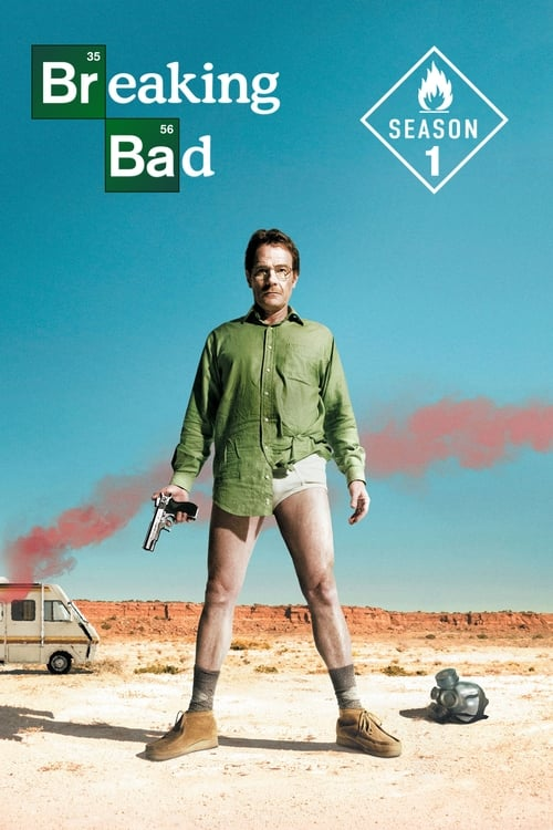 Cover of the Season 1 of Breaking Bad