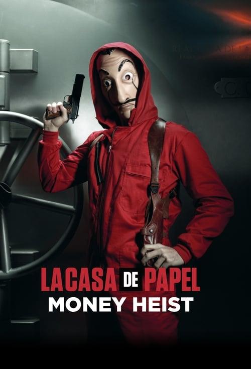 Cover of the Season 2 of Money Heist