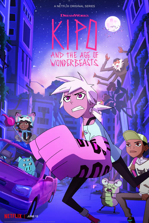 Cover of the Season 2 of Kipo and the Age of Wonderbeasts