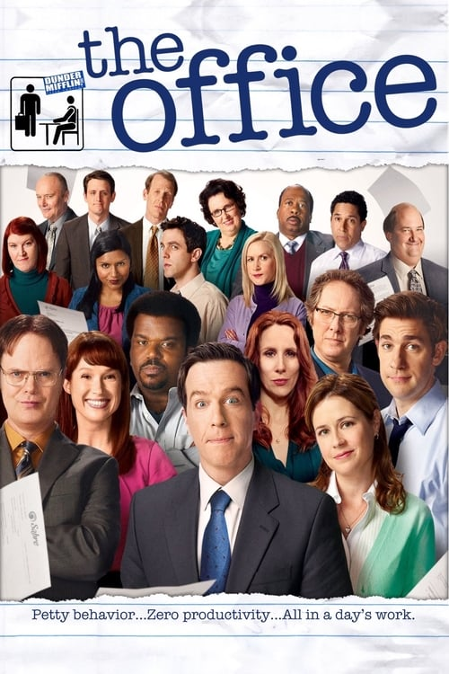 Cover of the Season 8 of The Office