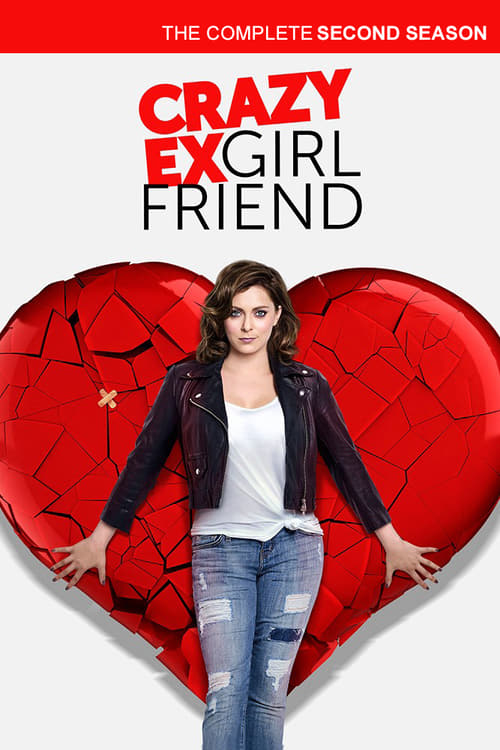 Cover of the Season 2 of Crazy Ex-Girlfriend