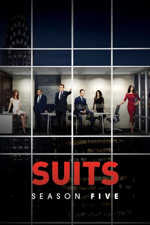 Cover of the Season 5 of Suits