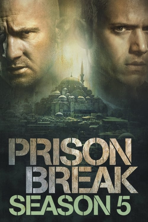 Cover of the Season 5 - Resurrection of Prison Break