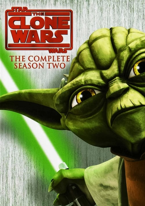 Cover of the Season 2 of Star Wars: The Clone Wars
