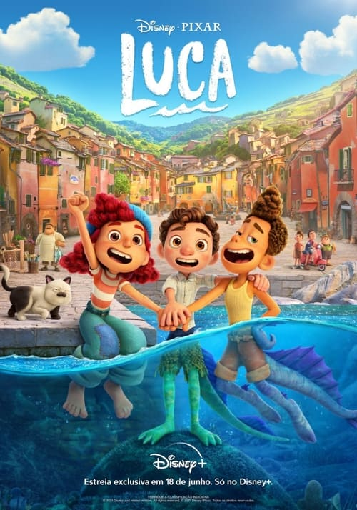 Filme Luca Dual Áudio 2021 – FULL HD 1080p