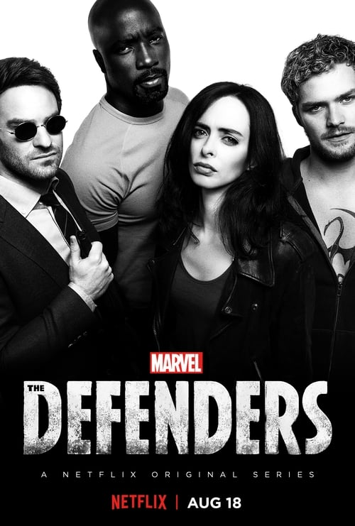 Cover of the Season 1 of Marvel's The Defenders