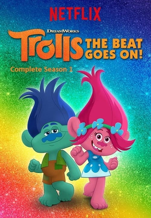 Cover of the Season 1 of Trolls: The Beat Goes On!