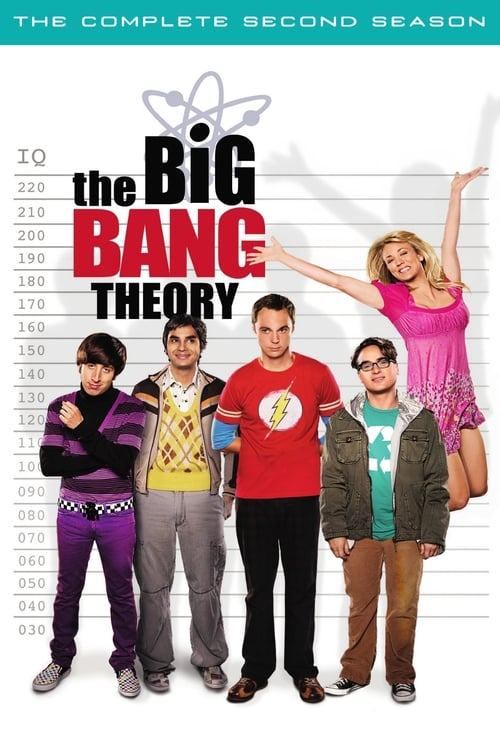 Cover of the Season 2 of The Big Bang Theory