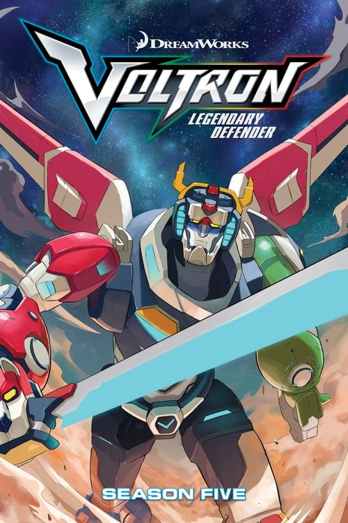 Cover of the Season 5 of Voltron: Legendary Defender
