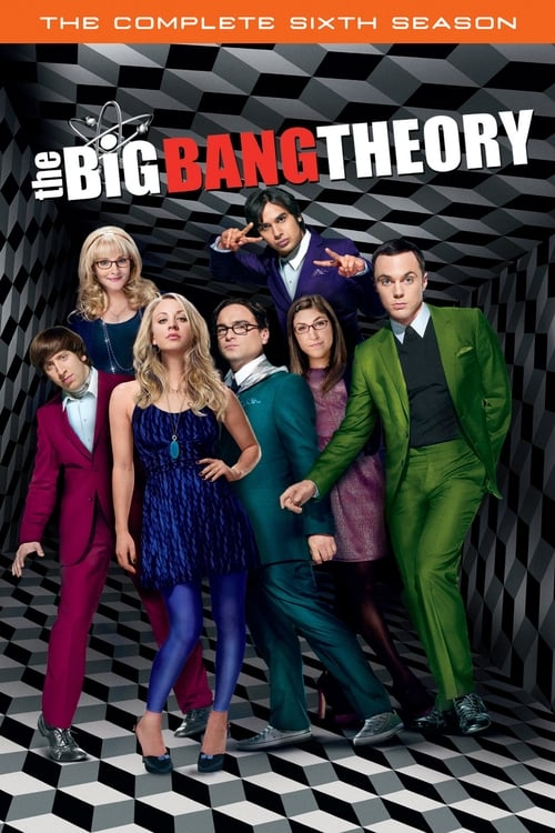 Cover of the Season 6 of The Big Bang Theory