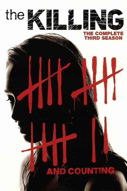 Cover of the Season 3 of The Killing