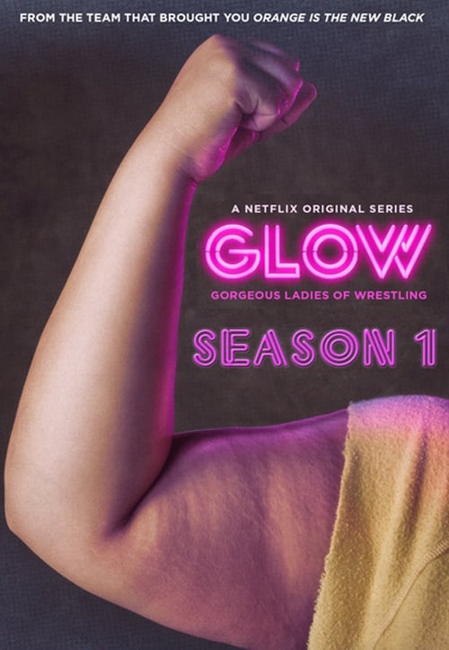 Cover of the Season 1 of GLOW