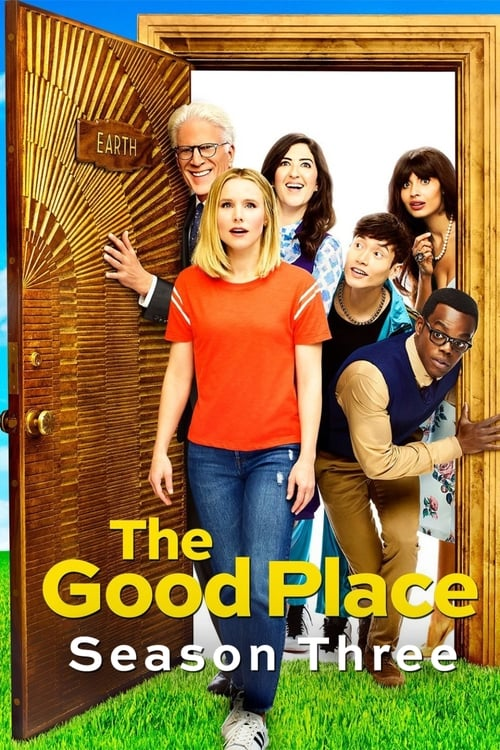 Cover of the Season 3 of The Good Place