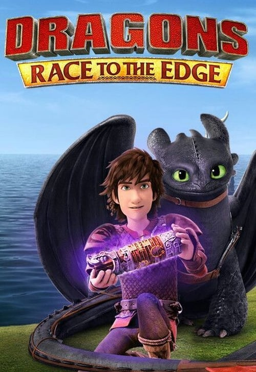 Cover of the Season 1 of Dragons: Race to the Edge