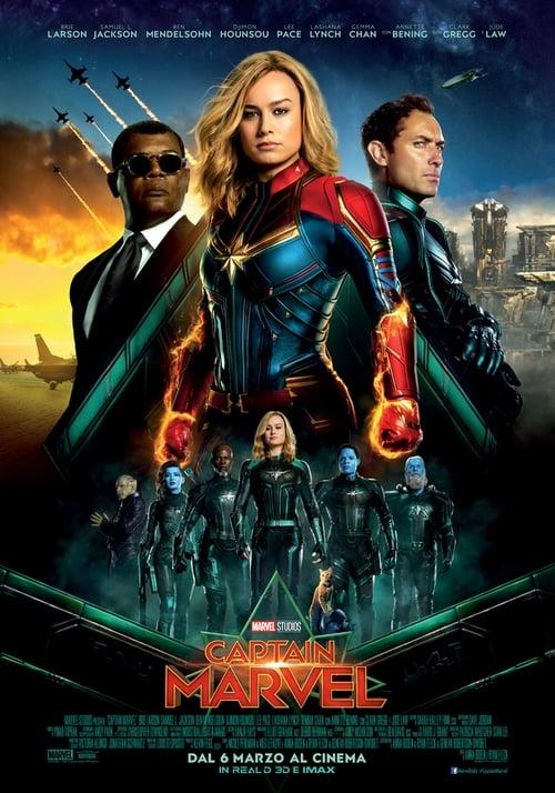 Captain Marvel (2019) Watch Full Movie Streaming Online