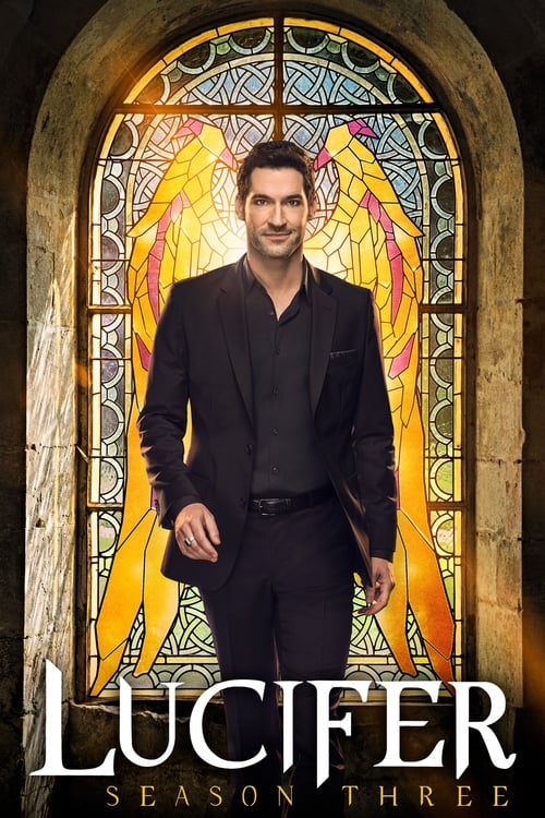 Cover of the Season 3 of Lucifer