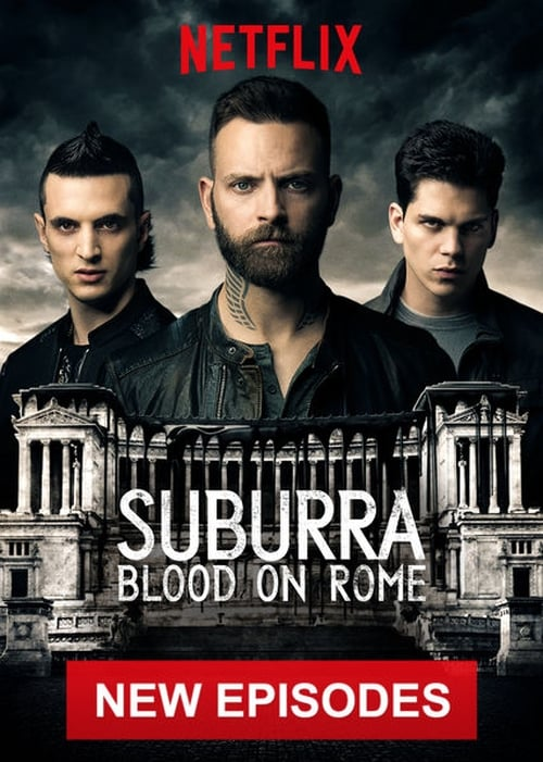 Cover of the Season 2 of Suburra: Blood on Rome