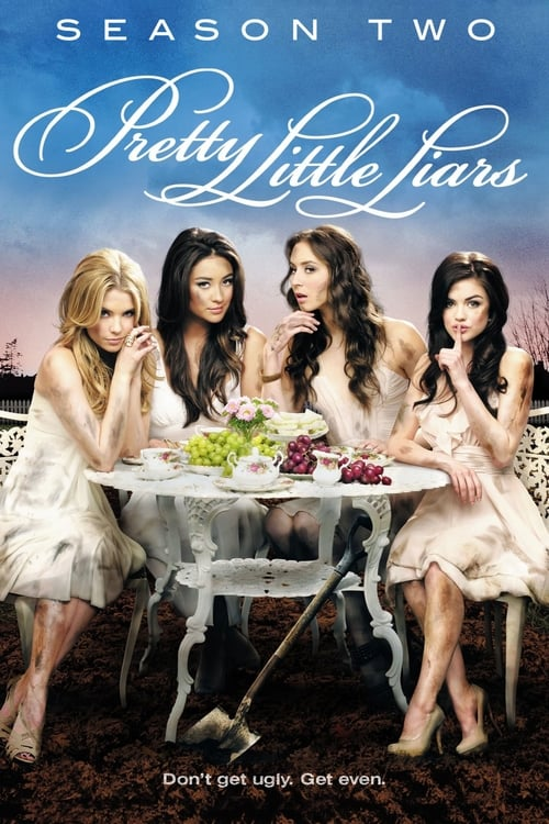 Cover of the Season 2 of Pretty Little Liars
