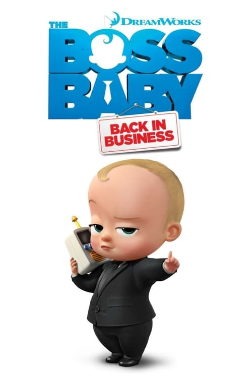 Cover of the Season 1 of The Boss Baby: Back in Business
