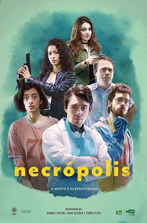 Cover of the Season 1 of Necrópolis