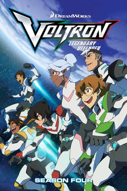 Cover of the Season 4 of Voltron: Legendary Defender