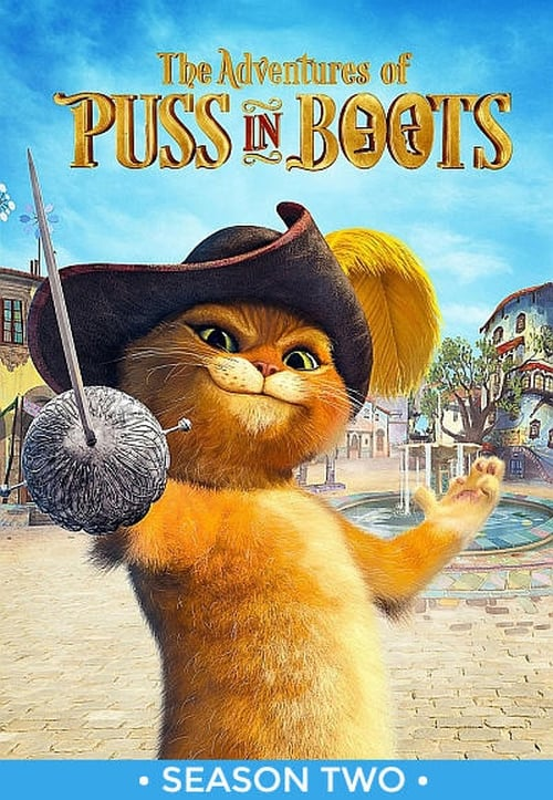 Cover of the Season 2 of The Adventures of Puss in Boots